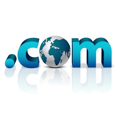 از پسوندهای معتبر مثل com. برای دامنه استفاده کنید