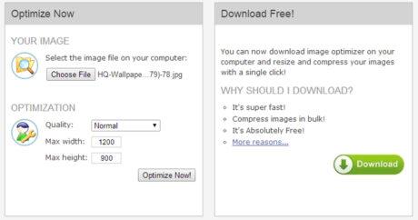 سایت فشردهسازی imageoptimizer برای بهینهسازی تصاویر سایت