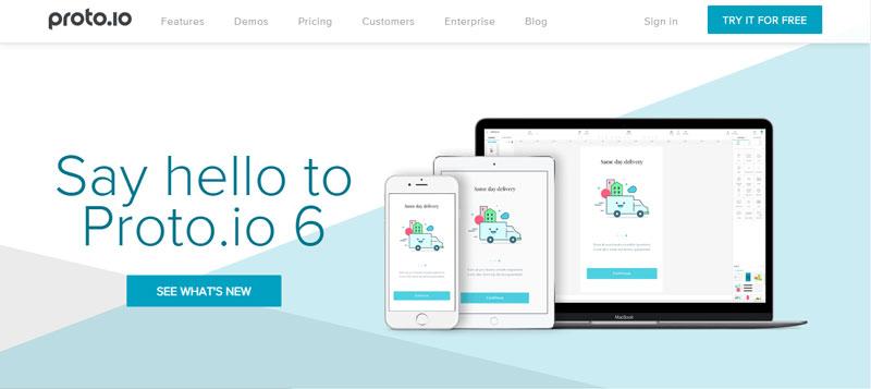 ابزار porto.io برای طراحی ui