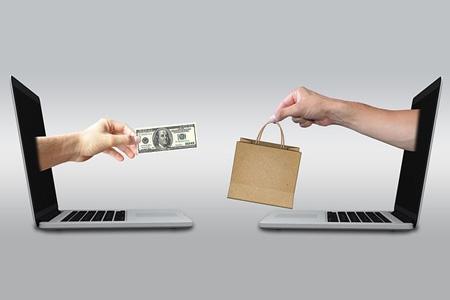 مبادله پول با کالا از طریق اینترنت