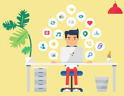 مدیر شبکههای اجتماعی از مشاغل اینترنتی دانشاموزان