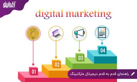 راهنمای قدم به قدم دیجیتال مارکتینگ