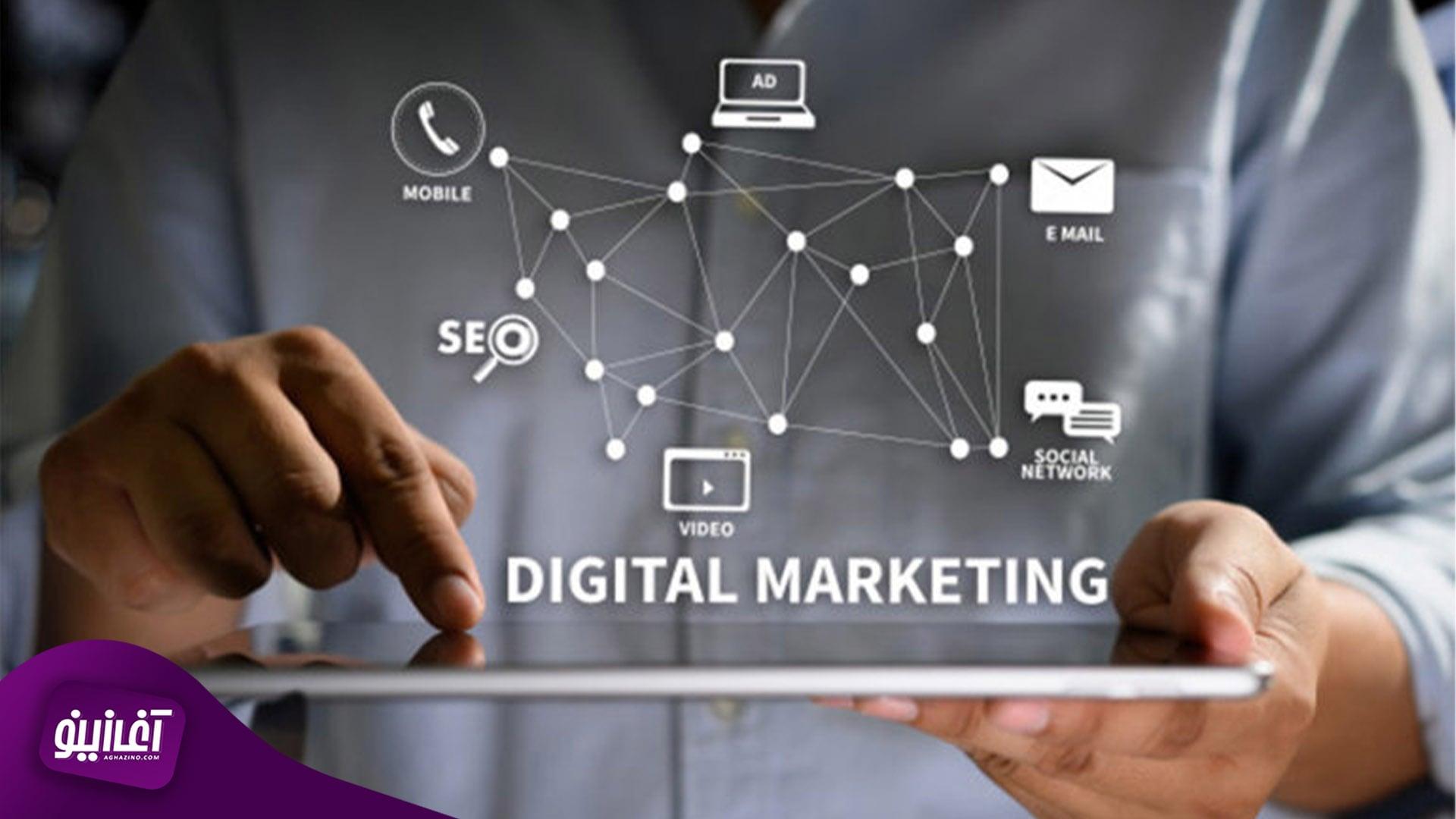 بازاریابی دیجیتال، رو به رشد به سرعت نور