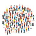 افراد مختلف به عنوان جامعه هدف در بوم دیجیتال مارکتینگ